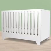 Hiya White 3 in 1 Convertible Crib by Spot On Square