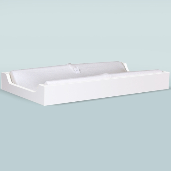 Hiya White Changing Tray by Spot On Square - Click to enlarge