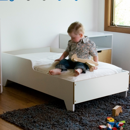 Hiya White Toddler Bed by Spot On Square - Click to enlarge
