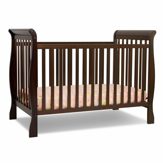 Jamie Espresso 4 in 1 Convertible Crib by DaVinci - Click to enlarge