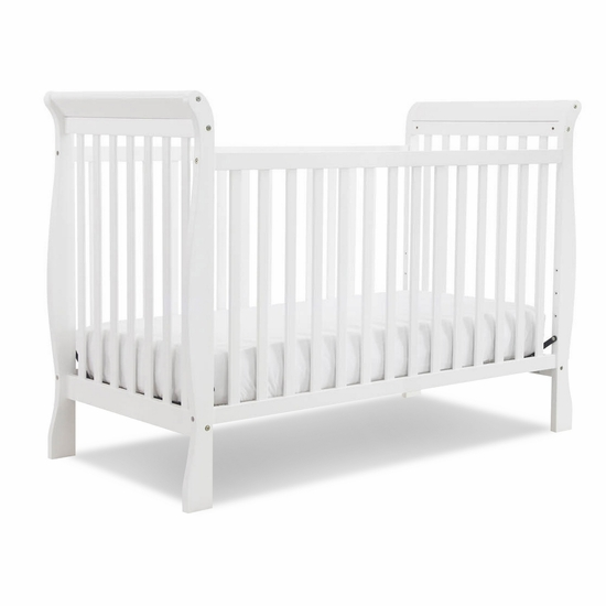 Jamie White 4 in 1 Convertible Crib by DaVinci - Click to enlarge