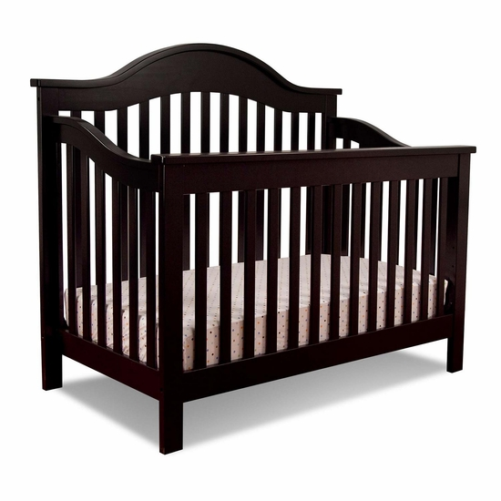 Jayden Ebony 4 in 1 Convertible Crib by DaVinci