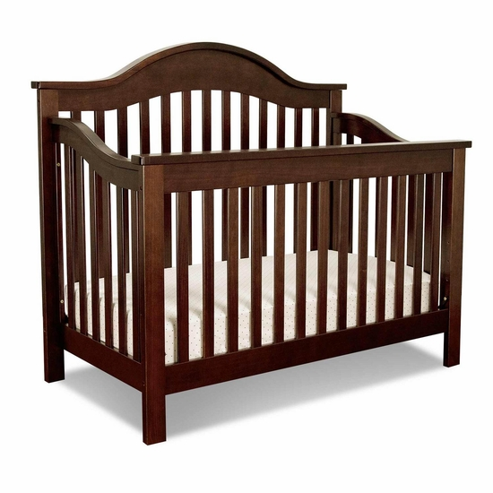 Jayden Espresso 4 in 1 Convertible Crib by DaVinci - Click to enlarge