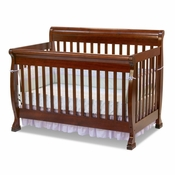 Kalani Cherry 4 in 1 Convertible Crib by DaVinci