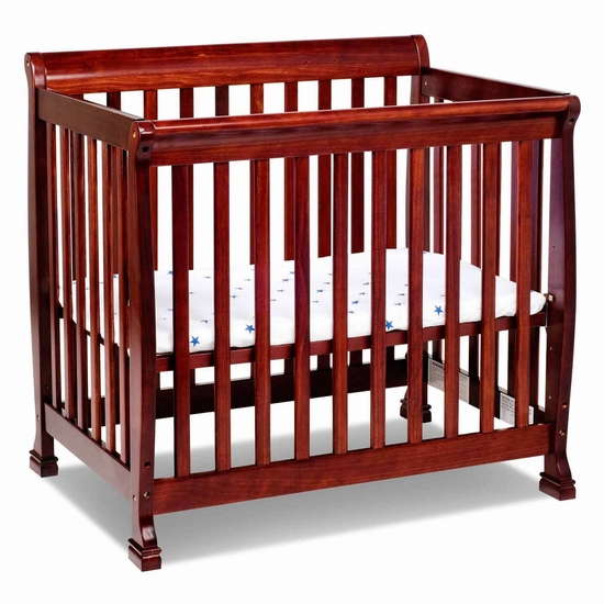 Kalani Cherry Mini Crib by DaVinci - Click to enlarge