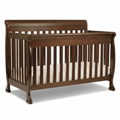 Kalani Espresso 4 in 1 Convertible Crib by DaVinci