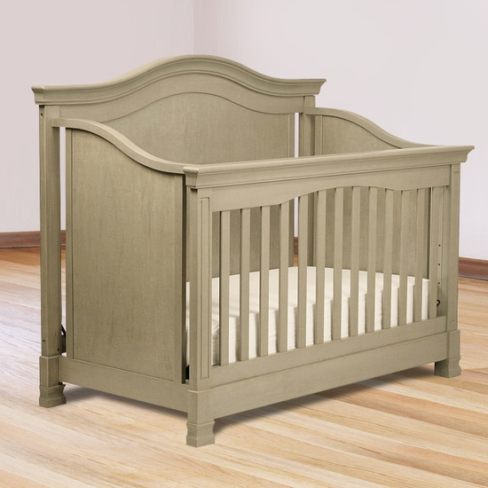 Louis Avon Grey 4-in-1 Convertible Crib by Million Dollar Baby - Click to enlarge