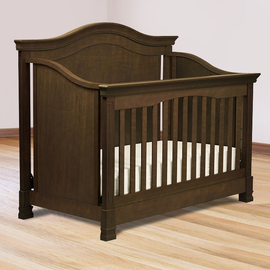 Louis Espresso 4-in-1 Convertible Crib by Million Dollar Baby - Click to enlarge