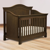 Louis Espresso 4-in-1 Convertible Crib by Million Dollar Baby