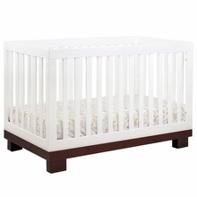 Modo Two Tone 3 in 1 Convertible Crib by BabyLetto