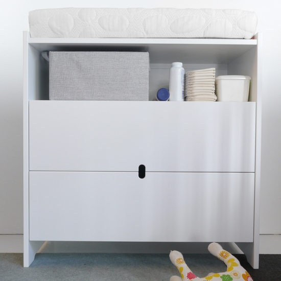 Oliv White Dresser Changer by Spot On Square