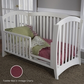 Pali La Spezia Toddler Rail Kit in Vintage Cherry