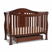 Parker Cherry 4 in 1 Convertible Crib by DaVinci