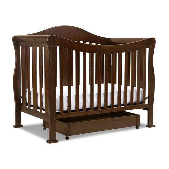 Parker Coffee 4 in 1 Convertible Crib by DaVinci - Click to enlarge