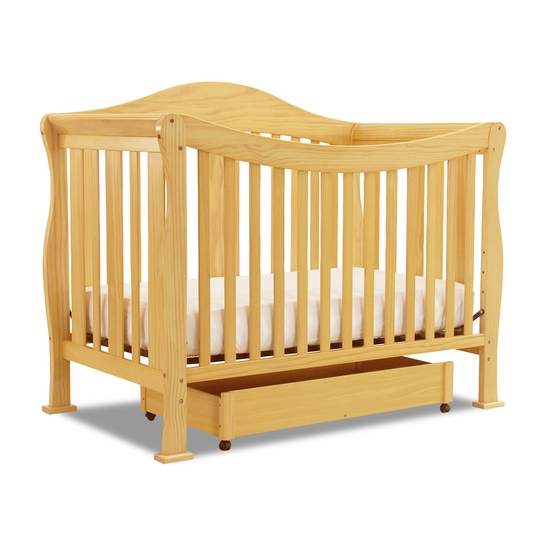Parker Natural 4 in 1 Convertible Crib by DaVinci - Click to enlarge