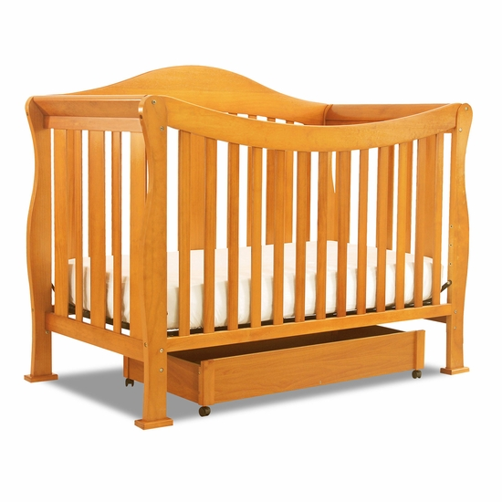 Parker Oak 4 in 1 Convertible Crib by DaVinci - Click to enlarge