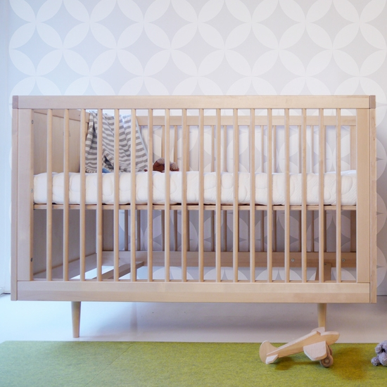 Ulm Birch Convertible Crib by Spot On Square