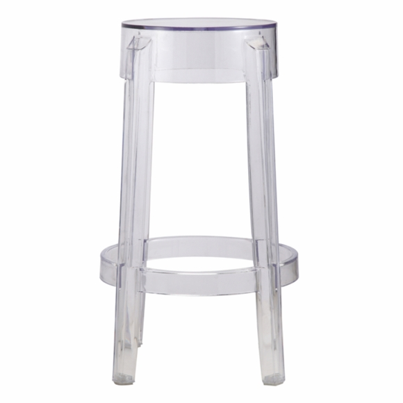 Acrylic Counter Stool Clear Modern In Designs
