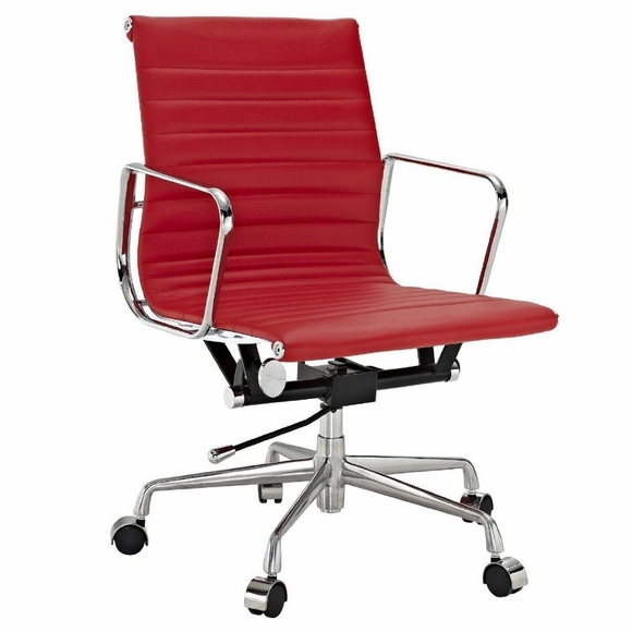 AG Ribbed Mid Back Office Chair : ag ribbed mid back office chair 81 from www.modernindesigns.com size 580 x 580 jpeg 104kB