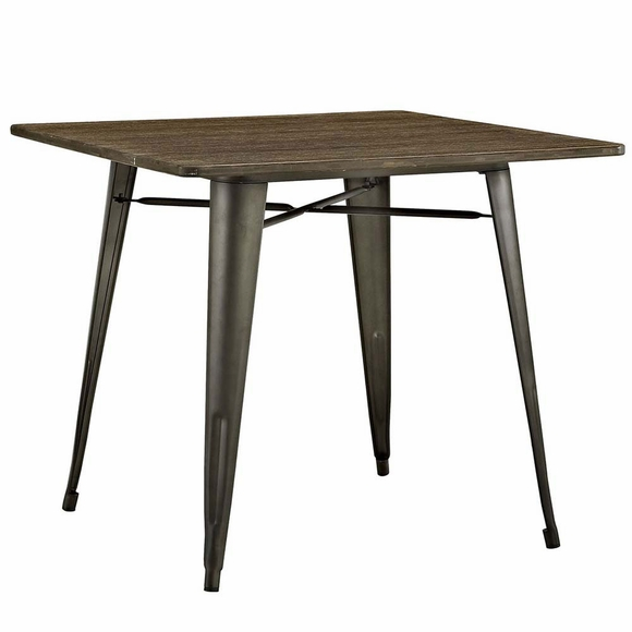 """36 Inch Square Kitchen Table: Alacrity 36"""" Square Wood Dining Table"""