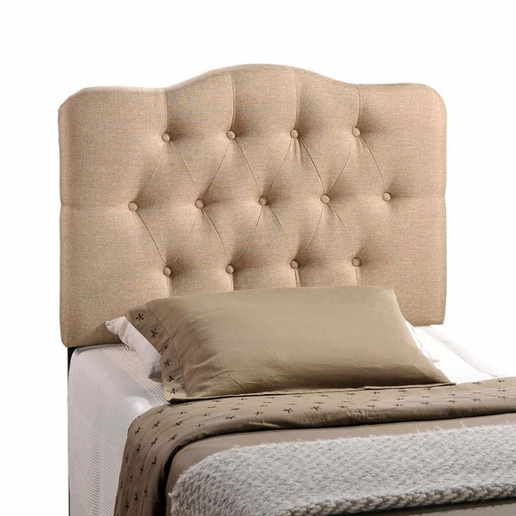 Image Result For Annabel Twin Fabric Headboard Beige