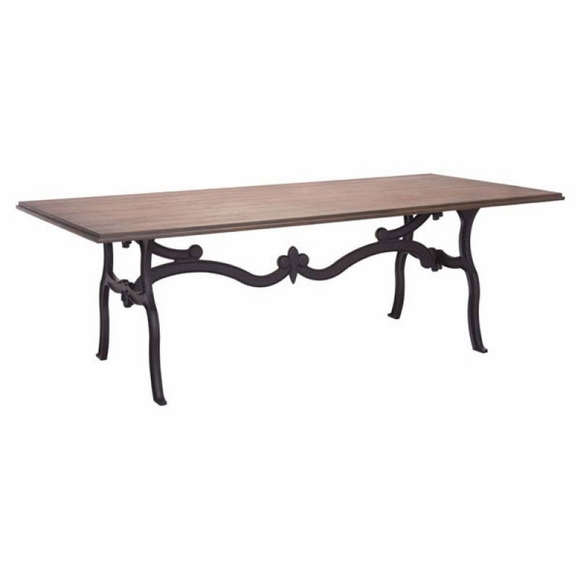 Bellevue Dining Table Distressed Natural Modern In Designs