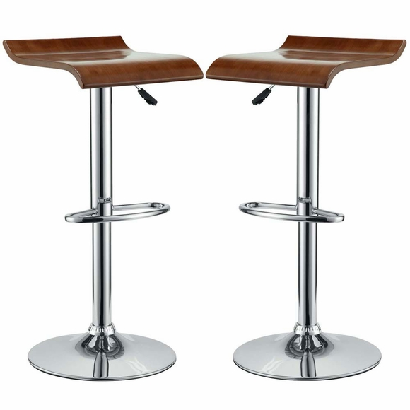 Bentwood Bar Stool Set Of 2 Modern In Designs