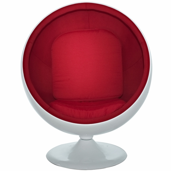 Eero Aarnio Style Ball Chair Red