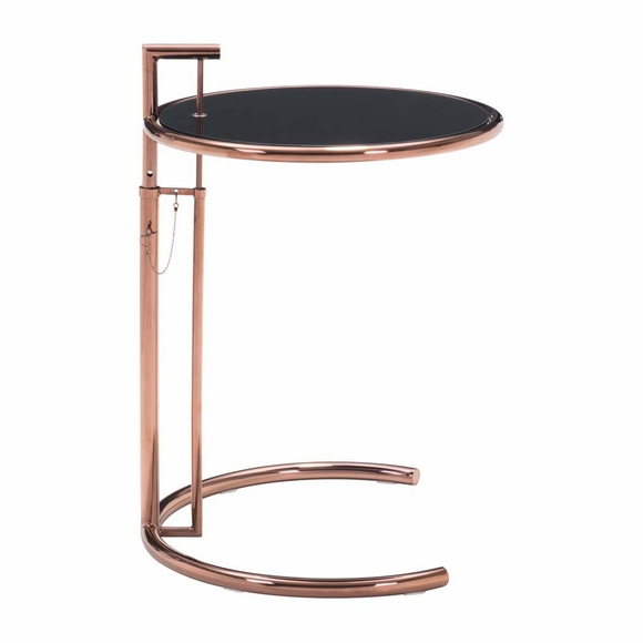 Eileen Grey Table Rose Gold Modern In Designs