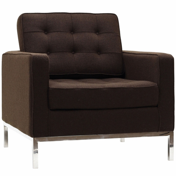 Florence Knoll Arm Chair Sectional Chair Premium Wool