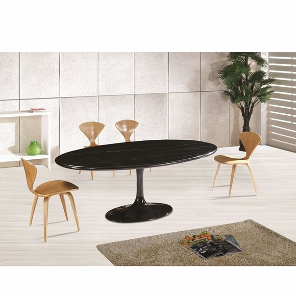 Flower 78 Oval Marble Dining Table Modern In Designs