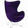 Jacobsen Style Egg Chair Wool