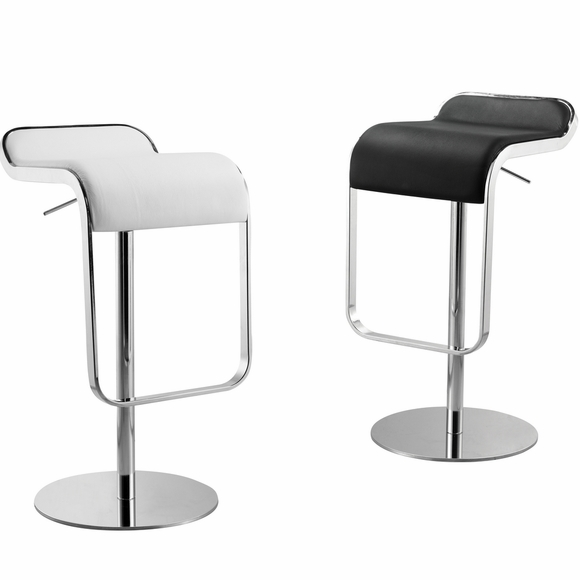 Lem Leather Bar Stool Chair Modern In Designs