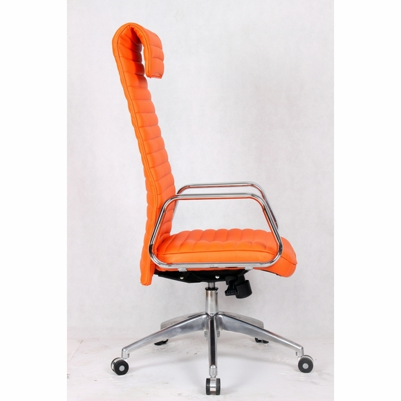 the ox office chair is a sophisticated leatherette chair offering
