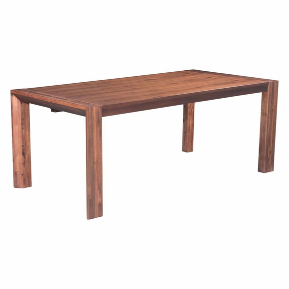 the perth extension dining table features rectangular shape with