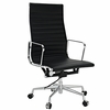 Ribbed High Back Executive Office Chair