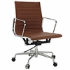 Ribbed Mid Back Management Office Chair