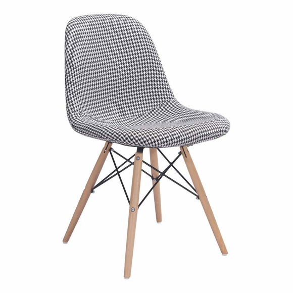 Sappy Dining Chair Houndstooth - Modern In Designs