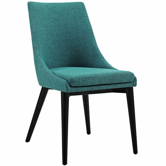 Viscount Fabric Dining Chair Modern In Designs