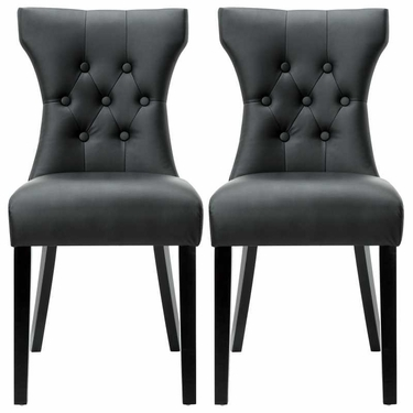 SILHOUETTE DINING CHAIRS SET OF 2