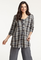 FLAX 2013 Traveler Buttoned  Pullover