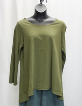 Pacific Cotton by Bryn Walker Leo Tunic in Highland Cotton Jersey, size large