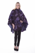 Parsley and Sage French Baroque Cape in Purple