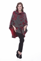 Parsley and Sage French Baroque Cape in Red