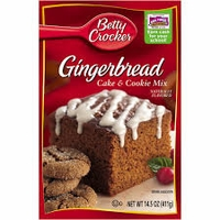 Betty Crocker Gingerbread Cake & Cookie Mix [16 oz]