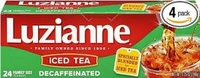 Luzianne Decaf Iced Tea Bags Family Size [48 bags]