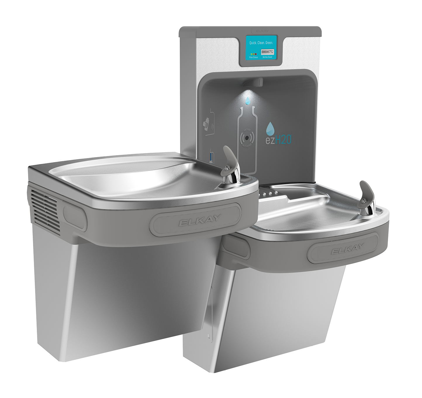 Midea Cooperate With Elkay In Outdoor Water Fountain