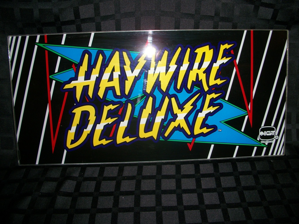 haywire deluxe slot machine