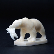 Ivory Grizzly Bear