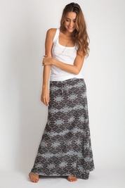 Acacia Haleiwa silk maxi skirt FINAL SALE